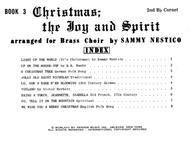 Christmas; The Joy & Spirit - Book 3/2nd Cornet