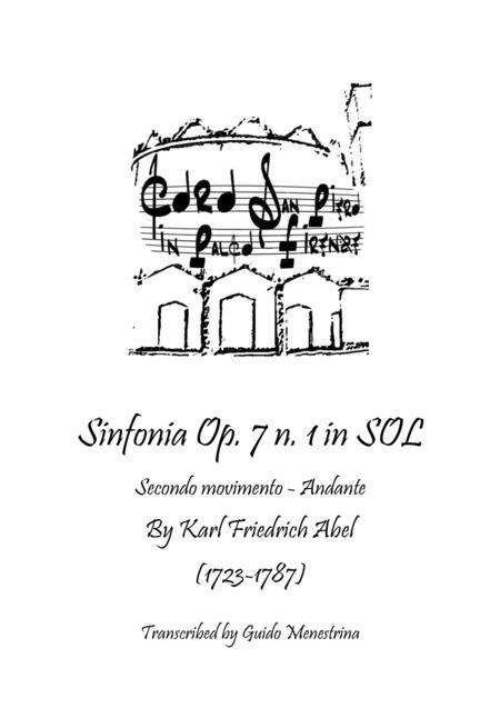 Karl Friedrich Abel - Sinfonia Op. 7 n. 1 - Secondo Movimento - Andante
