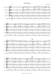 Little Tango for Beginning Recorder Quartet