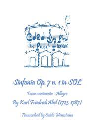 Karl Friedrich Abel - Sinfonia Op. 7 n. 1 - Terzo Movimento - Allegro