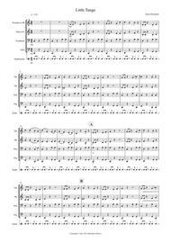 Little Tango for Beginning Brass Quartet