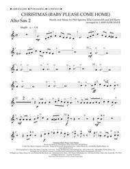 Christmas (Baby Please Come Home) - Eb Alto Saxophone 2