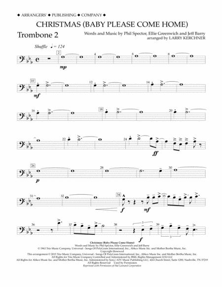Christmas (Baby Please Come Home) - Trombone 2