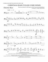 Christmas (Baby Please Come Home) - Electric Bass