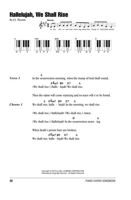 Download Hallelujah, We Shall Rise Sheet Music By J.E. Thomas ...