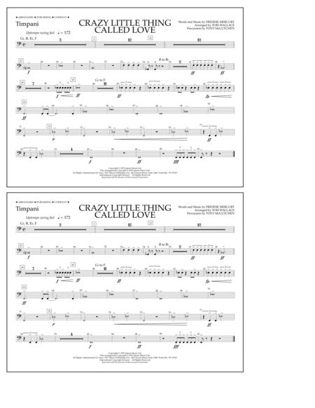 Crazy Little Thing Called Love - Timpani