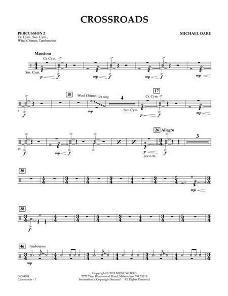 Crossroads - Percussion 2