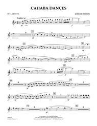 Cahaba Dances - Bb Clarinet 1