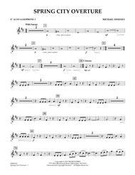 Spring City Overture - Eb Alto Saxophone 2