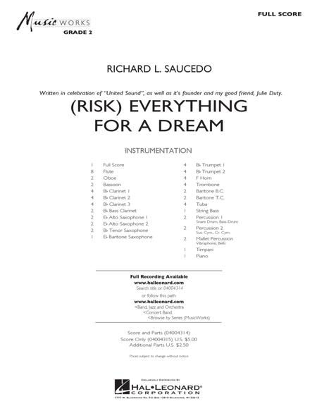 (Risk) Everything for a Dream - Full Score