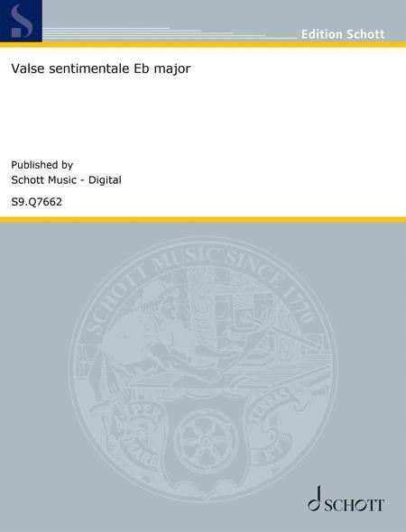 Valse sentimentale in E-flat major, Op. 50 No. 27