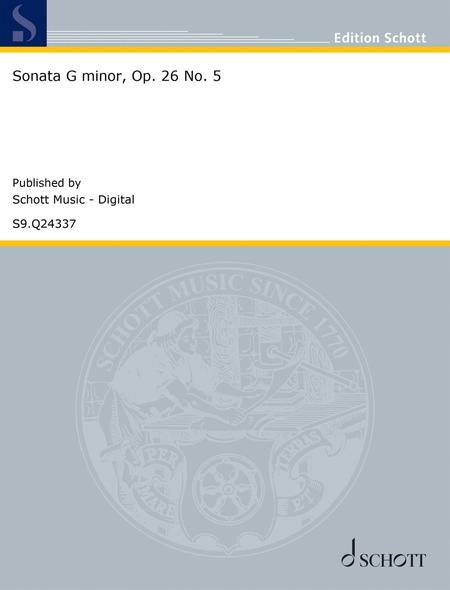 Sonata G minor, Op. 26 No. 5