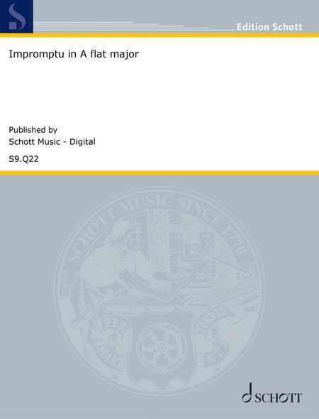 Impromptu in A-flat major, D. 899 No. 4