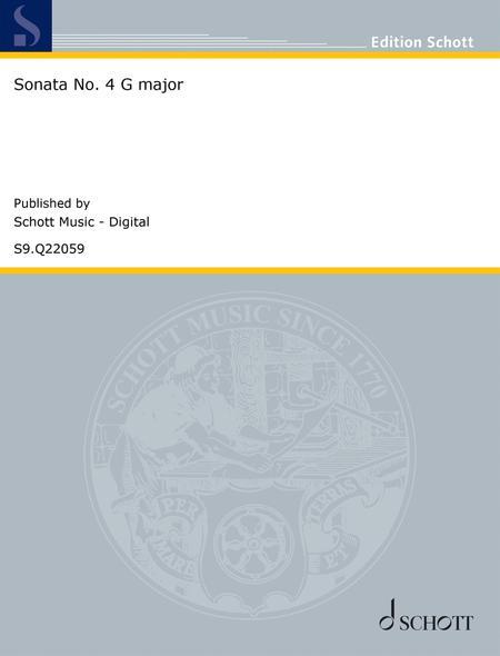 Sonata No. 4 G major