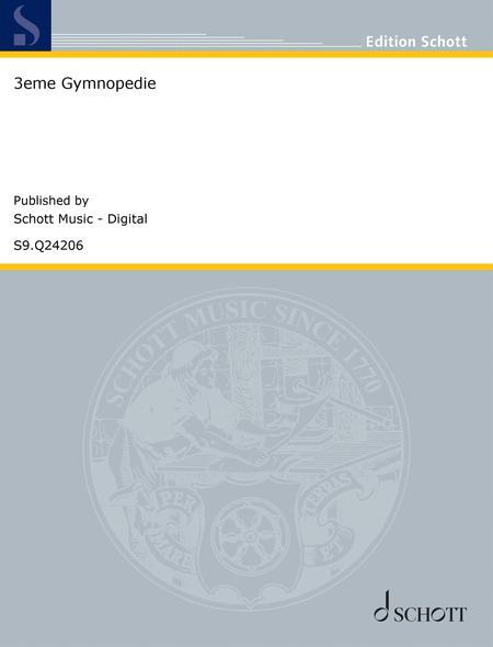 3eme Gymnopedie