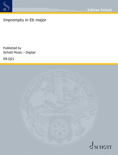 Impromptu in E-flat major, D. 899 No. 2