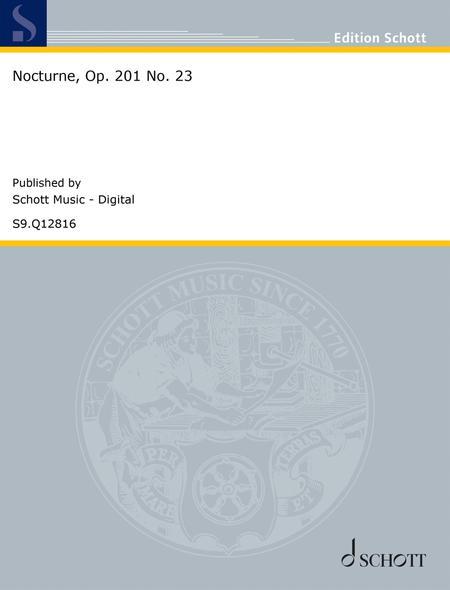 Nocturne, Op. 201 No. 23