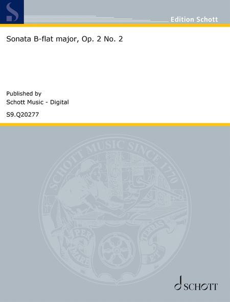 Sonata B-flat major, Op. 2 No. 2