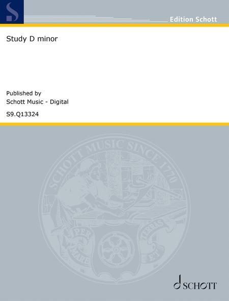 Study D minor