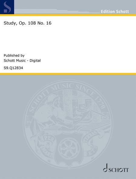 Study, Op. 108 No. 16