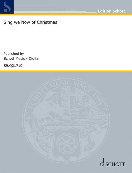 Sing We Now Of Christmas.Preview Sing We Now Of Christmas By Traditional S9 Q21710