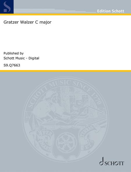 Gratzer Walzer in C major