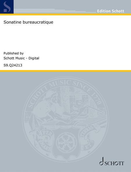Sonatine bureaucratique
