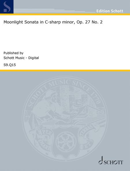 Moonlight Sonata in C-sharp minor, Op. 27 No. 2