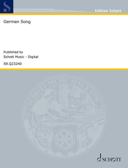 German Song