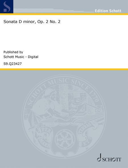 Sonata D minor, Op. 2 No. 2