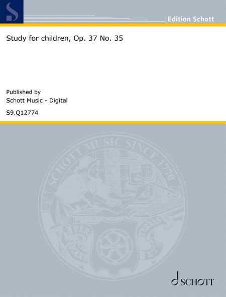Study for children, Op. 37 No. 35