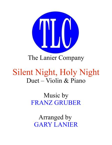 SILENT NIGHT (Duet – Violin and Piano/Score and Parts)