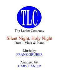SILENT NIGHT (Duet – Viola and Piano/Score and Parts)