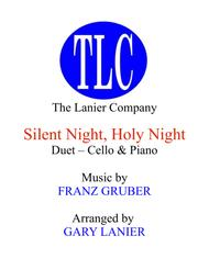 SILENT NIGHT (Duet – Cello and Piano/Score and Parts)