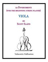 12 Divertimenti for Viola