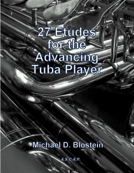 27 Etudes for the Advancing Tuba Player