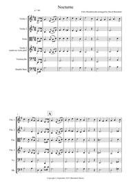 Nocturne (from A Midsummer Night's Dream) for String Orchestra