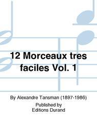 12 Morceaux Tres Faciles N 1 Guitare