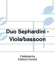 Duo Sephardini Alto/basson