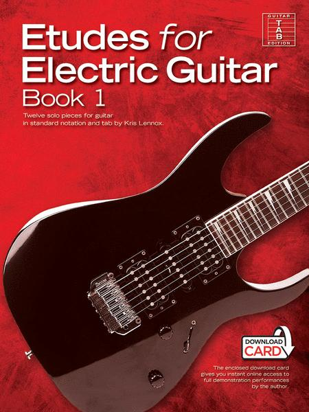 Etudes for Electric Guitar - Book 1