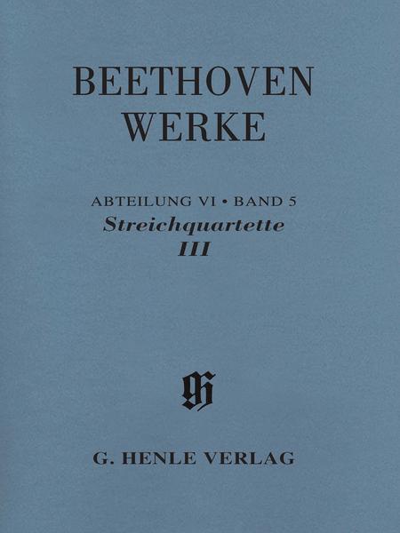 String Quartets III
