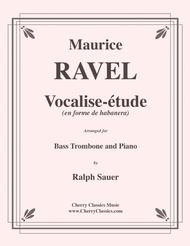 Vocalise-etude for Bass Trombone & Piano