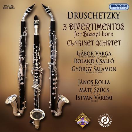 Georg Druschetzky: 3 Divertimentos for Basset Horn