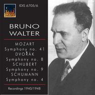 Bruno Walter conducts Mozart, Dvorak, Schubert & Schumann