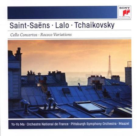 Saint-Saens: Cello Concerto No. 1 in A Minor, Op. 33 - Lalo: Cello Concerto in D Minor