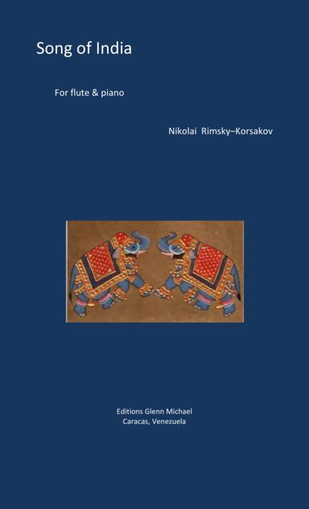 Rimsky Korsakov Song of India for flute & piano