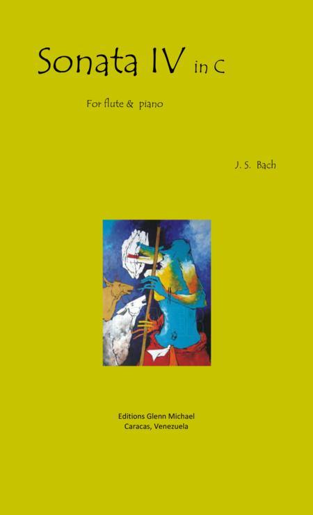 Bach Sonata 4 for flute  in C