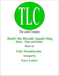 HARK! THE HERALD ANGELS SING (Duet – Flute and Piano/Score and Parts)