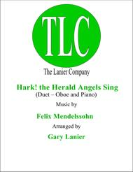 HARK! THE HERALD ANGELS SING (Duet – Oboe and Piano/Score and Parts)