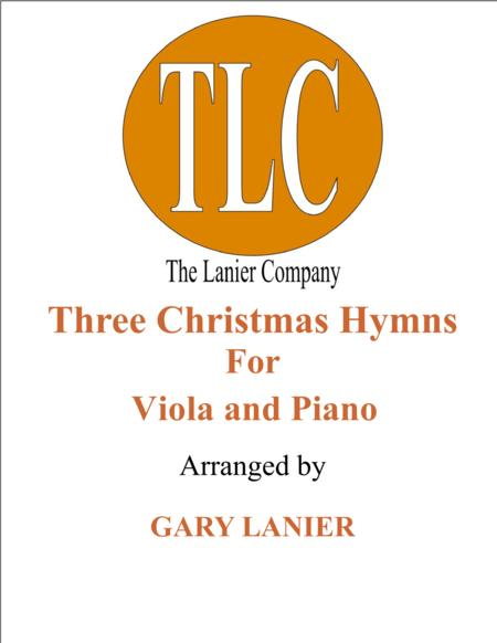 THREE CHRISTMAS HYMNS (Duets for Viola & Piano)